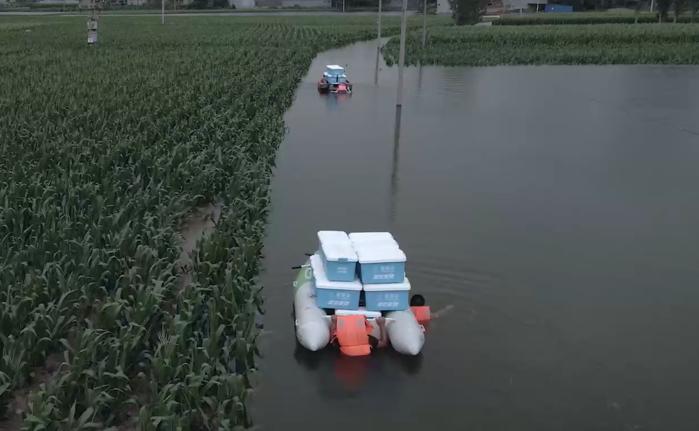 壹哪个平台有易胜博河南洪灾救援行动已持续一月,发放救灾物资超过172万件