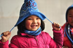 壹基金关注灾区儿童过冬 袋鼠送来温暖和欢乐 - 壹基金 - 壹基金的博客