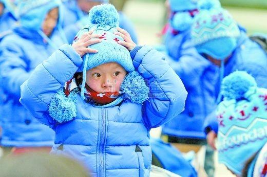 山区娃穿上不打滑的雪地靴 今年冬天上学不再怕结冰路 - 壹基金 - 壹基金的博客